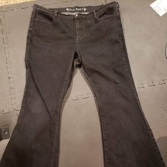 Old Navy Denim - Black Flare Jeans